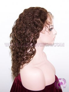 Jerry Curl #4 Indian Remy Hair Full Lace Wigs