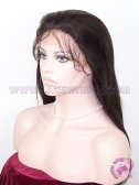 Light Yaki Straight #2 Indian Remy Hair Stock Glueless Lace Wigs