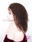 Kinky Curl #3 Malaysian Virgin Hair Stock Silk Top Lace Wigs