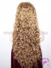Beyonce Wave #27 Highlight #30 Indian Remy Hair Silk Top Lace Wigs, Silk Base Wigs