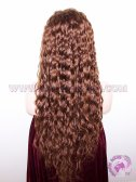 Curly #33 180% Density Indian Remy Hair Full Lace Wigs