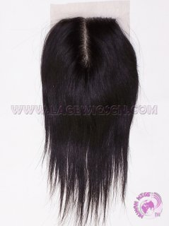 Straight #1b Indian remy hair Lace Closure (Top Closure)