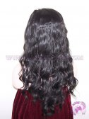 Curly Synthetic #1b Lace Front Wigs