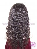 Curly natural color Indian remy hair SILK TOP lace wigs, SILK BASE wigs
