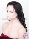 Loose Barrel Curl #1 Indian Remy Hair Stock SILK TOP Lace Wigs, SILK BASE Wigs
