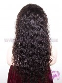 Loose Curl #2 Brazilian Virgin Hair Hair Silk Top Lace Wigs