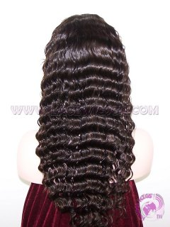 Deep Body Wave #2 Highlight #3 Indian Remy Hair Stock Glueless Full Lace Wigs