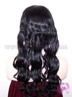 Soft Body Wave #1 Indian Remy Hair SILK TOP Lace Wigs