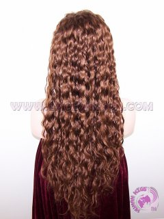 Curly #33 180% Density 24 Inches Glueless Full Lace Wigs