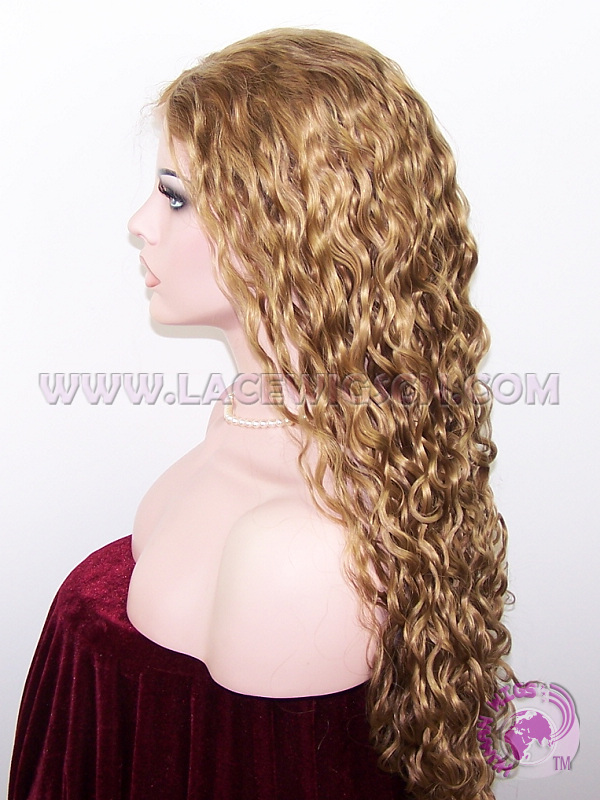 Beyonce Wave #27 Highlight #30 Indian Remy Hair Full Lace Wigs - Click Image to Close