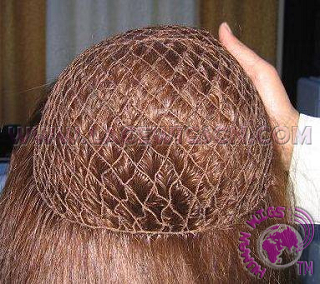 fish net cap